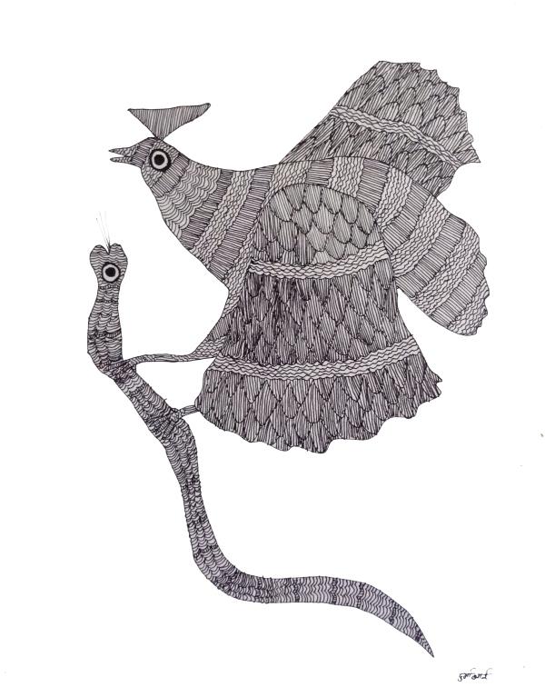 oiseauserpent